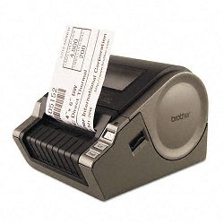 "QL-1050 Wide Format PC Label Printer 69 LabelsMin 6-710""w x 8-710""d x 5-45""h (BRTQL1050)"