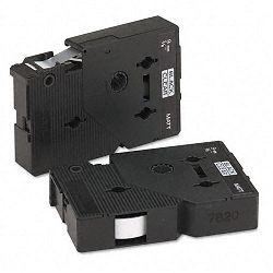 "TC Tape Cartridges for P-Touch Labelers 38""w Black on Clear Matte Pack of 2 (BRTTCMOZ)"