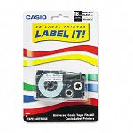 Tape Cassette for KL Label Makers 34in x 26ft Black on White (CSOXR18WES)