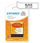 LetraTag PaperPlastic Label Tape Value Pack 12in x13ft Assorted 3Pack (DYM12331)