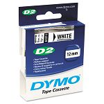 D2 Tape Cassette for Dymo Labelmakers 9000 6000 PC-10 34in x 32ft White (DYM61911)