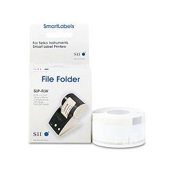 "Label Printer Hanging File Folder Labels 13 Cut 1-14"" x 3-12"" White Box of 130 (SKPSLP3HFL)"