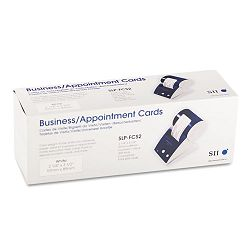 "BusinessAppointment Cards 2-14"" x 3-12"" White Box 600 (SKPSLPFCS2)"