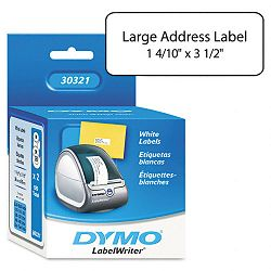 "Address Labels 1-25 x 3-12"" White Box of 520 (DYM30321)"