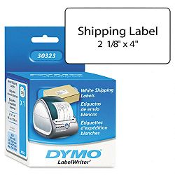 "Shipping Labels 2-18"" x 4 White Box 220 (DYM30323)"