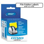 "1-Up File Folder Labels 916 x 3-716"" White Box 260 (DYM30327)"