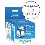 CDDVD Labels 2-14in dia White 160Box (DYM30854)