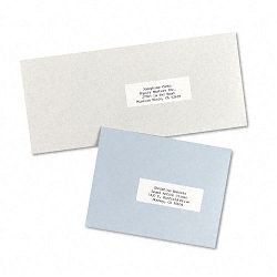 "Self-Adhesive Address Labels for Copiers 1"" x 2-1316"" White 8250Box (AVE5332)"