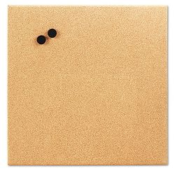 "Magnetic Canvas Cork Board 17"" x 17"" Unframed Cork (BDU19163UA4)"