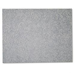 "Self-Stick Cut-to-Fit Unframed Bulletin Board 23"" x 18"" Charcoal (MMM558CBK)"