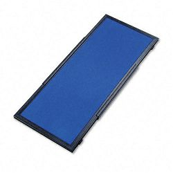 "Display System Optional Header Panel Fabric 24"" x 10"" BlueGrayBlack PVC Frame (QRTSB93501Q)"