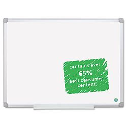 "MasterVision Monthly Planner 36"" x 48"" Silver Frame (BVCMA2700790)"
