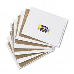 "Student Dry-Erase Boards Melamine 12"" x 9"" White Set of 10 (CKC988110)"