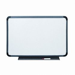 "Ingenuity Dry Erase Board Resin Frame with Tray 36"" x 24"" Charcoal (ICE37039)"