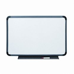 "Ingenuity Dry Erase Board Resin Frame with Tray 66"" x 42"" Charcoal (ICE37069)"