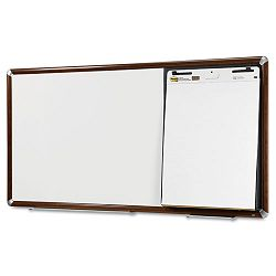 "Collaboration Board 65"" x 38"" Mahogany Frame (MMMCB6538FMY)"