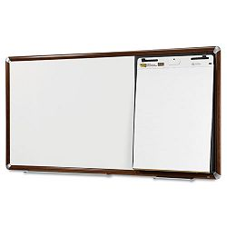 "Collaboration Board 96"" x 38"" Mahogany Frame (MMMCB9638FMY)"