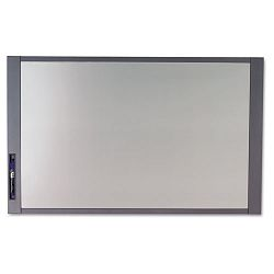 "InView Custom Whiteboard 37"" x 23"" Graphite Frame (QRT72982)"