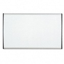 "Magnetic Dry Erase Board Painted Steel 14"" x 24"" WhiteAluminum Frame (QRTARC2414)"