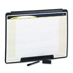 "Motion Portable Monthly Calendar Dry Erase 24"" x 18"" (QRTMMC25)"