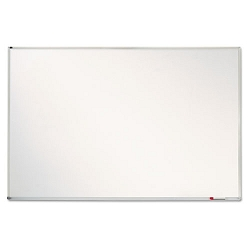 "GlassX Frosted Glass Dry Erase Board with Monthly Planner 35"" x 23"" Unframed (QRTPPA412)"