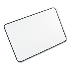 "White-on-White Magnetic Planning Board Steel 36"" x 24"" WhiteBlack (MAVWOW2436)"