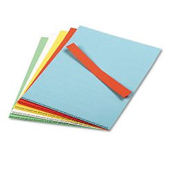 "Data Cards for Magnetic Card Holders Assorted Colors 10 8-12"" x 11"" Sheets per Pack (MAVDC20M)"