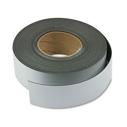 "Magnetic Write-OnWipe-Off Strips 2"" x 50 ft Roll White (MAVMR50161P)"