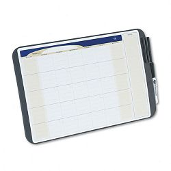 "Tack and Write Monthly Calendar Board 17"" x 11"" Black (QRTCT1711)"