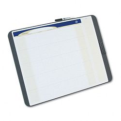 "Tack and Write Monthly Calendar Board 17"" x 23"" Black (QRTCT2317)"