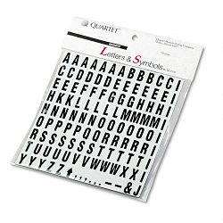 "Magnetic Characters Magnetic Black 34""h Set of 120 (QRTML)"