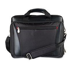 "Laptop Business Case NylonVinyl 15-14"" x 4-12"" x 12-14"" Black (IVR22020)"