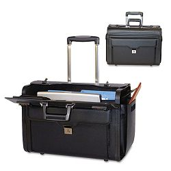 "Rolling ComputerCatalog Case Koskin 19"" x 9"" x 15-12"" Black (BND456110BLK)"