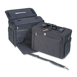 "Laptop Catalog Case Nylon 18"" x 8"" x 13-12"" Black (STB267200BLK)"