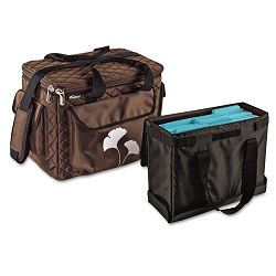 "Business Tote Bag 1680-Denier Ballistic Nylon 9"" x 15"" x 12"" Brown (AUE16000)"