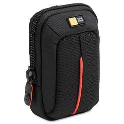"Compact Digital Camera Case PolyesterNylon 3-12"" x 2"" x 4-34"" Black (CLGDCB301)"