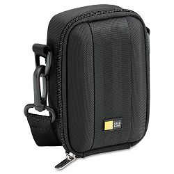 "Medium CameraFlash Camcorder Case PolyesterEVA 3-34"" x 2-14"" x 5-34"" Black (CLGQPB202)"