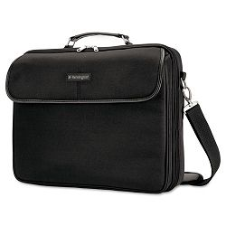 "Simply Portable 30 Laptop Case 15 34"" x 3"" x 13 12"" Black (KMW62560)"