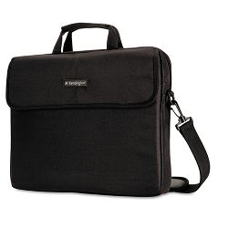 Laptop Sleeve Padded Interior InsideOutside Pockets Black (KMW62562)