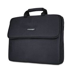 "SP 17 17"" Laptop Sleeve Padded Interior InteriorExterior Pockets Black (KMW62567)"