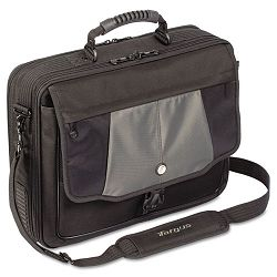 "Blacktop 17"" Deluxe Laptop Case Polyester 18-12"" x 5-12"" x 16-14"" Black (TRGCPT401DUS)"