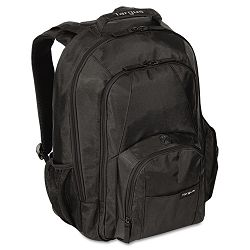 "15.4"" Groove Laptop Backpack Nylon 13"" x 7-34"" x 18"" Black (TRGCVR600)"