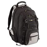 "CityGear Chicago Laptop Backpack Nylon 15"" x 9-12"" x 18-34"" BlackGrayYellow (TRGTCG650)"