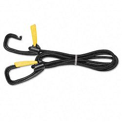 "Bungee Cord with Locking Clasp Black 72"" (KTKLGLC10)"