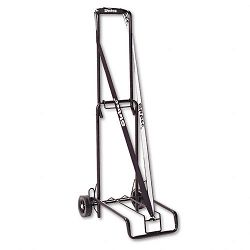 "Luggage Cart 125lb Capacity 13 x 10"" Platform Black Steel (STB390002BLK)"