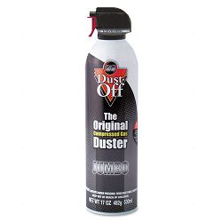 Disposable Compressed Gas Duster 17oz Can (FALDPSJMB)