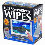 "ScreenKleen Alcohol-Free Wet Wipes Cloth 5"" x 5"" Box of 40 (REARR1391)"