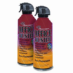 OfficeDuster Plus All Purpose Duster 2 10oz CansPack (REARR3522)