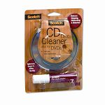 Scotch CDDVD Disc Cleaner Wipes & Spray Bottle Solution (MMMAV100)