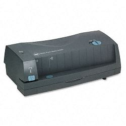 24-Sheet 3230ST Electric Two- and Three-Hole Adjustable PunchStapler Gray (GBC7704280)